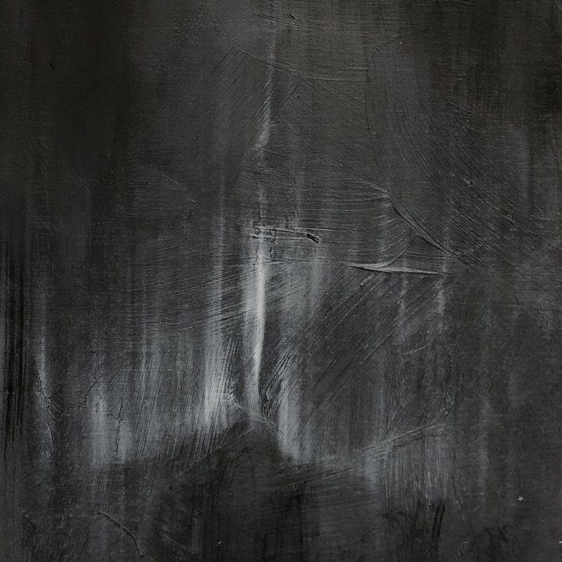 """21x15, Öl_Holz, """"allusion á Courbet"""", 2019"""