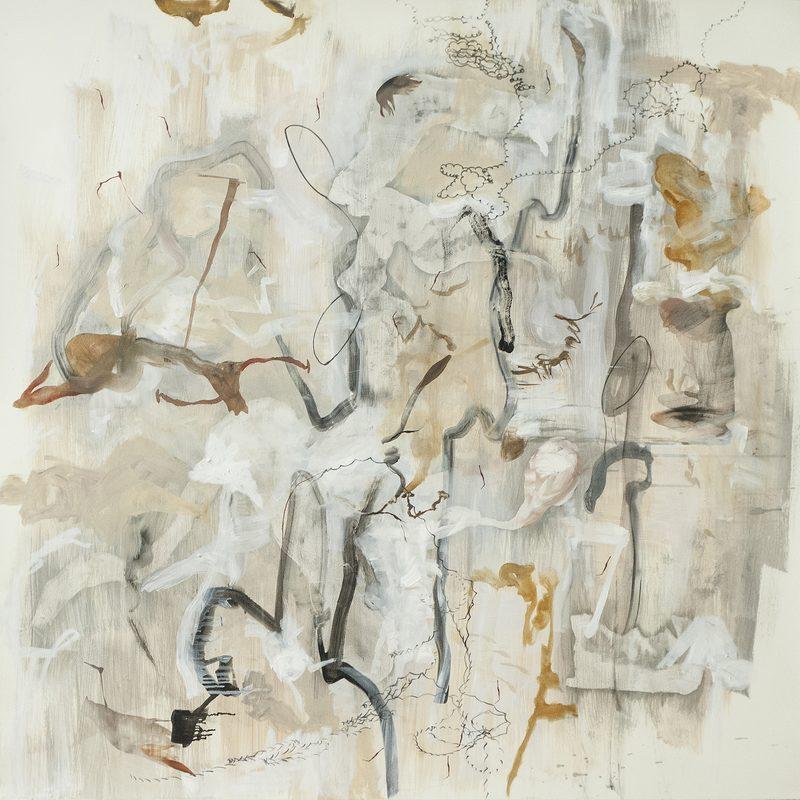 """140 x 140 Mischtechnik/Papier - """"Comic"""", 2015"""