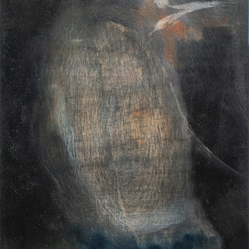 "21x15, Öl/Holz, ""Ikone"", 2019"