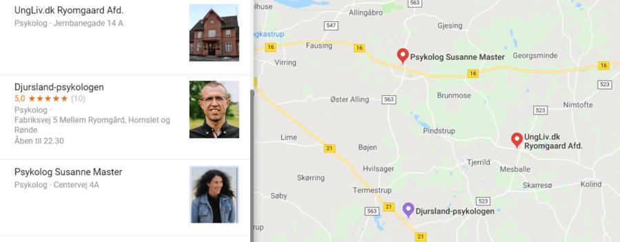 Psykolog Ryomgård - autoriseret psykolog i nærheden af Ryomgård