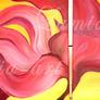 Feuerkind - 60 x 50 cm (verkauft)